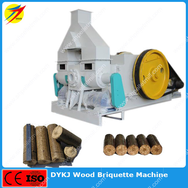 Wood Briquette Maker ~ Electric wood briquette maker machine with automatic