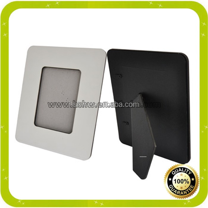 high quality of hardboard photo frame for sublimation with free samples