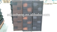 Metal building material color steel plate bent tiles stone coated roof sheet