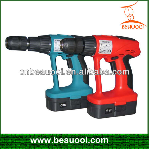 24v Cordless Impact Drill With Gs,Ce,Emc,Rohs Certificate 24v ...