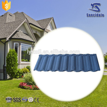 Sancidalo modern type metal roof tile/chinese factory directly supply roof