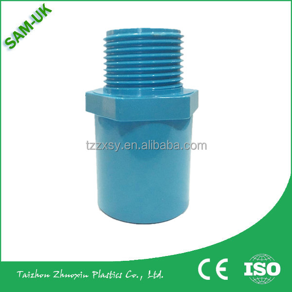 Thai standard PVC pipe fittings male adapter