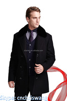 Best selling forecaster velvet-lined wool-cashmere-blend maxi walker coat
