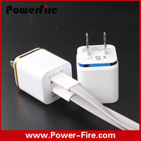 For samsung/iphone5/6 wall charger,Wholesale mini 2 port usb wall charger