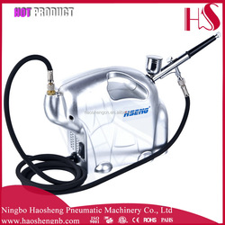 AS16K airbrush salon used best sell hobby art and picture painting airbrush compressor