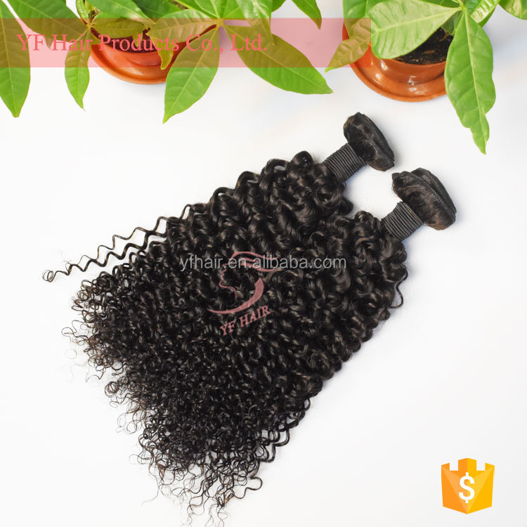 Wholesale Indian grade 8a unprocessed virgin peruvian hair deep curl hair extension no synthetic hair