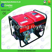 Professional Supplier 2.0 kw to 12.0 kw three phase recoil/electric start Portable Open Type 5kw diesel generator price