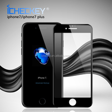2017 new 3D Curved Edge protective film for iphone 7 7 plus Full screen cover Tempered Glass Screen Protector