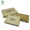 Elegant custom printed empty chocolate gift box packaging cardboard chocolate boxes