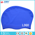wholesale 2017 lovely girls long hair waterproof silicone swim cap