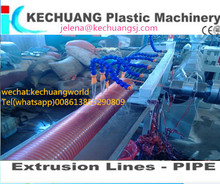 PVC Spiral Steel Wire Reinforced Hose Production Line pvc spiral hose extrusion line plastic machine pvc pipe production line