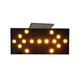 Led placard warning solar pedestrian crossing signs