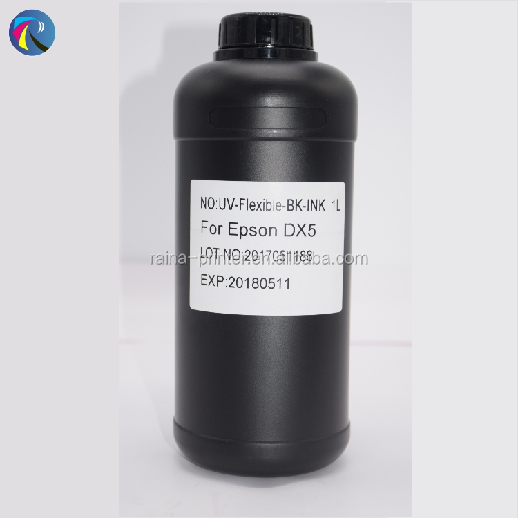 original good quality UV curable ink for roll to roll and flatbed printer led uv ink for epson head