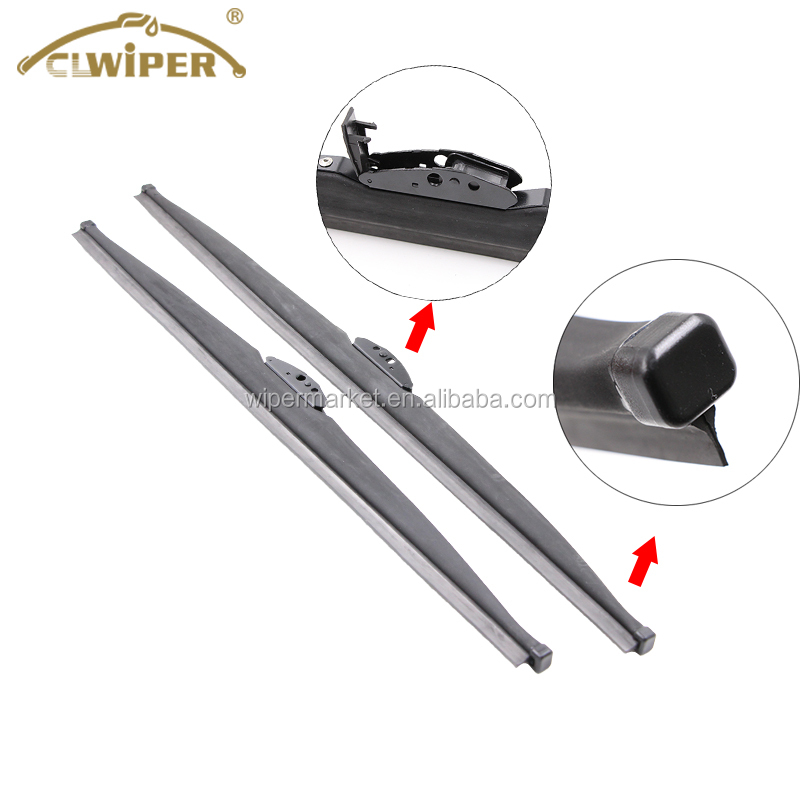 High quality metal frame snow winter wiper blade for cold weather.