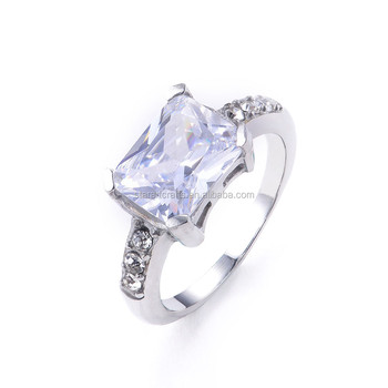 316L stainless steel ring engagement wedding ring for women and men SRA182