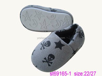 Warm confortable star-printing children shoes/slipper