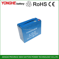 6-dzm-35 60v electric tricycle lead acid battery pack for distributors maintenance-free valve-regulated batteries