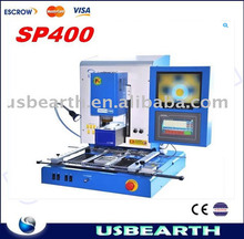 SP400 full automatic bga rework station, most professional BGA rework station with optical alignment system