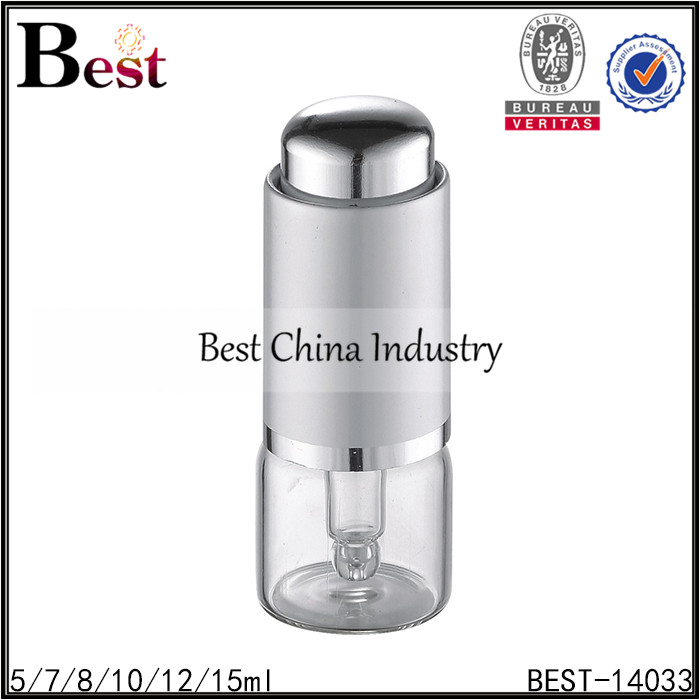 fashion design round essential oil glass dropper bottle sized wholesale