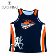 Fashion custom printing Wholesale men Gym Singlets