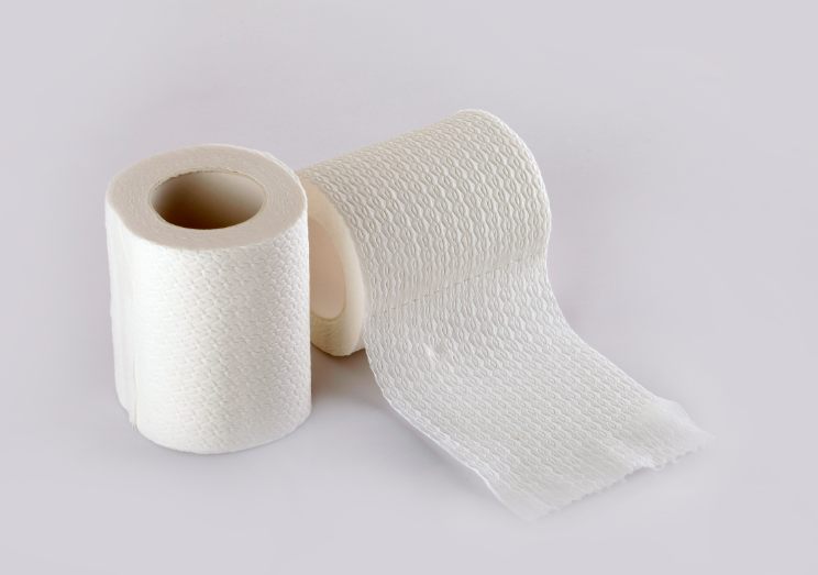 Soft jumbo roll tissue bamboo paper