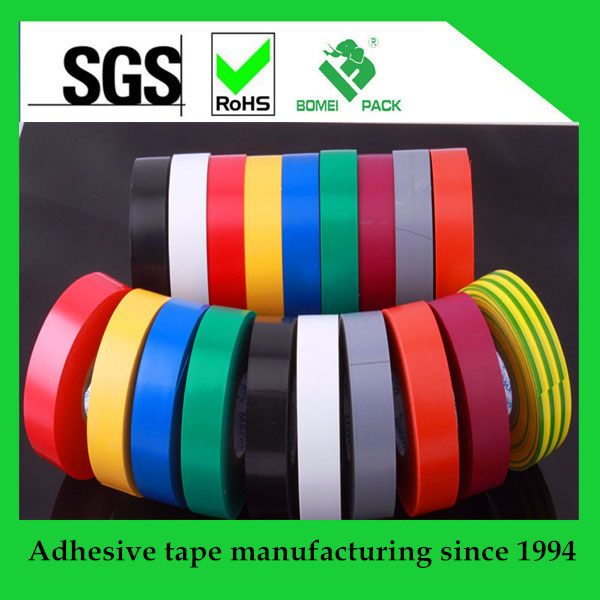 Waterproof and Flame Retardant PVC Electrical Insulated Tape heat-resistant and environmental tape