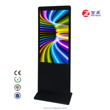 55 inch android floor stand full color led digital signage display