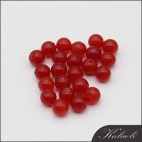 Wholesale semi precious stone 8mm loose red gemstone agate beads