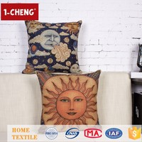 Creative Fashion Egyptian Taste Printing Designs Cushion Home Decor Throw Pillow Handicrafts Made Of Abaca