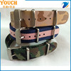 18mm nato strap stock watch strap Fabric Nylon Leather Army Military Replacement Wrist Watch Band Strap