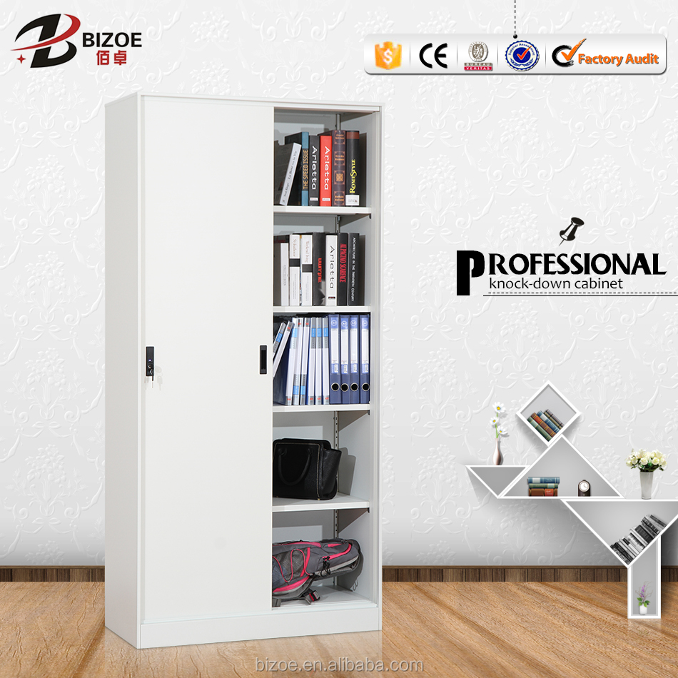 Sliding door cupboard cabinet,metal foldable cupboard,file/book cupboard