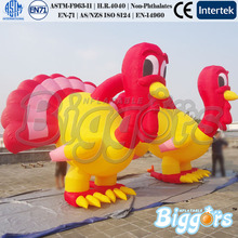 Inflatable Double Turkey Arch Entrance Arch For Christmas Decoration