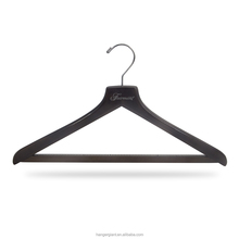 Black Adults Clothes Wooden Suit Hangers
