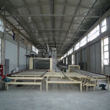 2016 hot sale gypsum board production line automatically with best price Made in China
