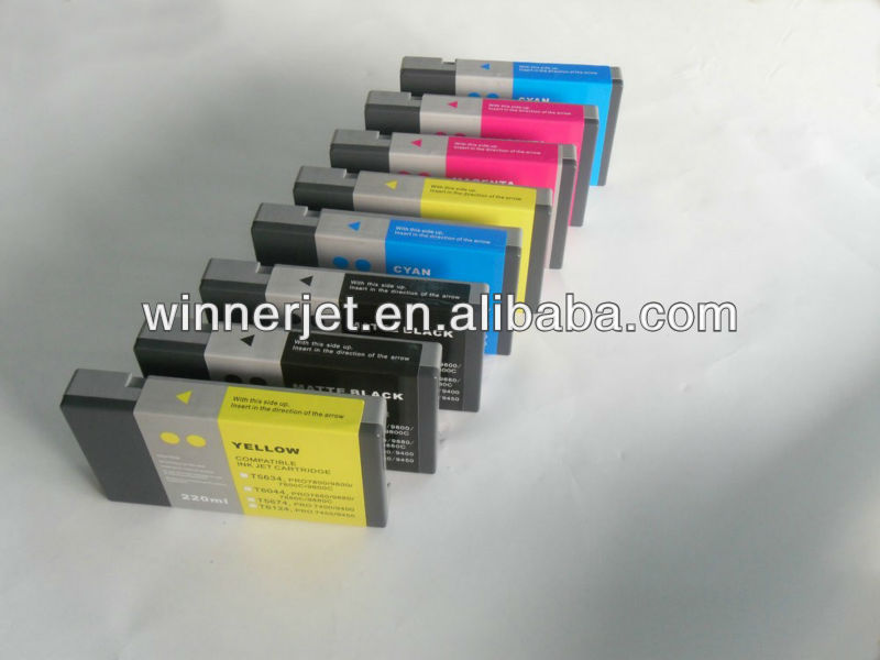 compatible ink for epson stylus pro 7800 9800