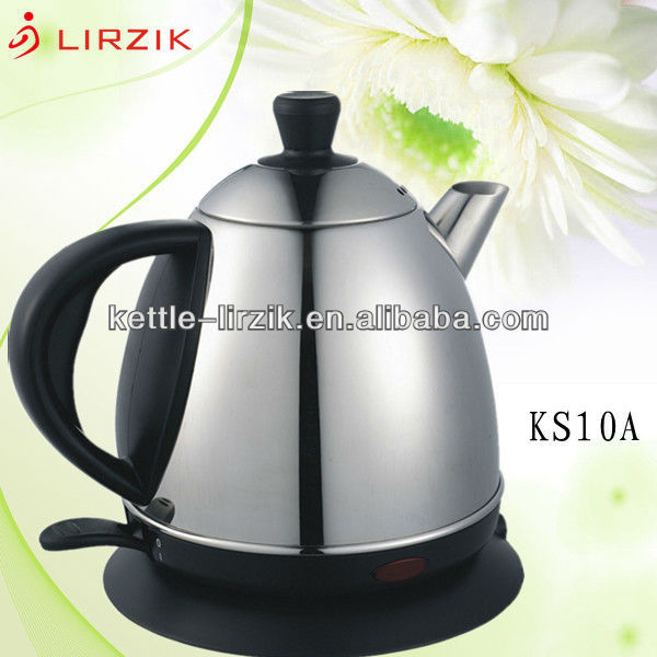 Brands of home appliance/ kitchen appliance/ automatic shut-off for dual protection of the stainless steel kettle KS10A