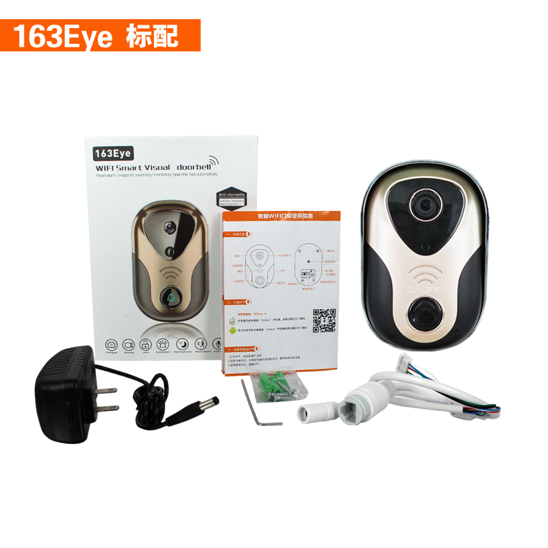 smart <strong>phone</strong> ip video doorbell camera wifi wireless ip door intercom