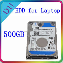 original laptop hdd 2.5 inch SATA 5400rpm 8MB internal hard disk 500gb