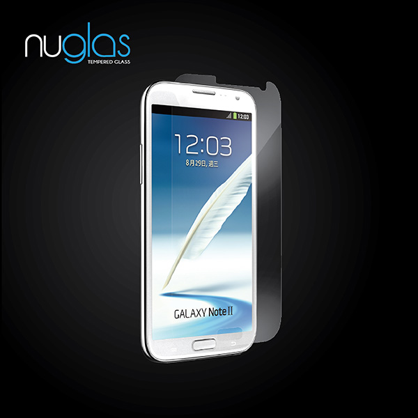 Nuglas tempered glass screen screen protector for samsung galaxy note 2 n7100