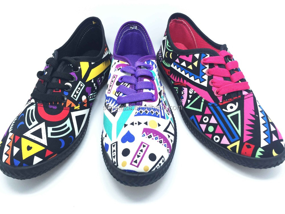 2016-17 Graffiti Canvas Shoes for full sizes