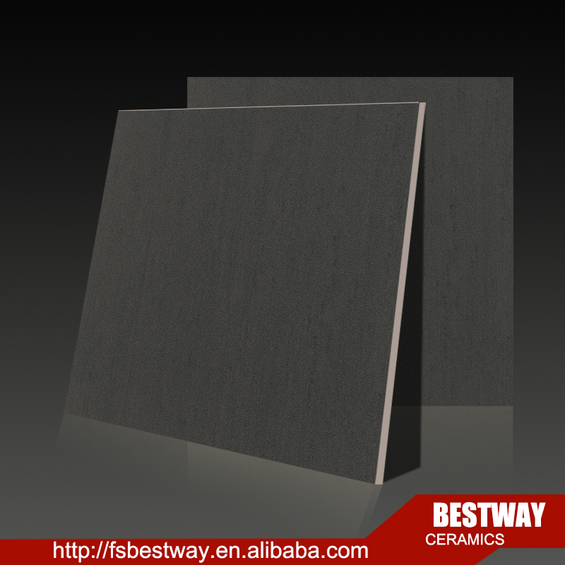 2016 hot sale solid dark color porcelain tiel full body rustic tile
