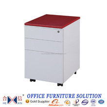 Hot Sale Steel Thin Edge Mobile Office Drawers