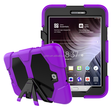 For Samsung Galaxy Tab S2 8.0 T710 Anti-shock combo housing with rotate stand and shoulder strap