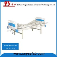 Professional Manufacturer Manual Medical Hospital Equipment Foldable Bed for Sale