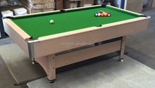 Shenzhen Double Star professional production billiard tables for sale / pool table with green cloth