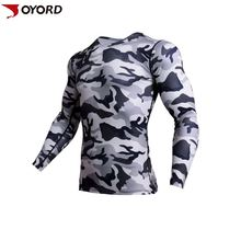 High Quality Custom Made Sublimated Camo Blank Surfing Rash Guard
