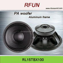 15 inch B&C high quality professional bass woofer speaker
