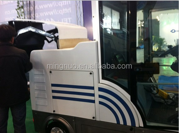 E800LD CE solid surface cleaning tool ,battery operated floor machine,industrial sweeping vehicle