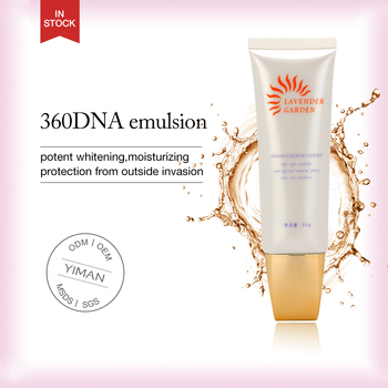 sunscreen private label, 360 DNA sunscreen Emulsion ,organic sunscreen lotion brighten skin long moisturizing sunblock