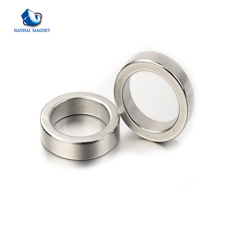 N35-N52 Permanent Radiation Ring Neodymium Magnet